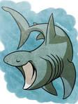 shark week day7- BASKING SHARK