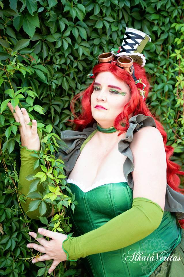 Steampunk Poison Ivy by SSFSeiyaKou