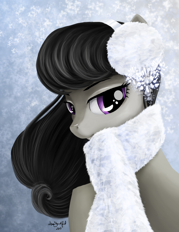 Merry Christmas from Octavia by PaintedHoofprints
