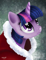 Merry Christmas from Twilight Sparkle