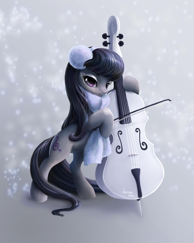 Octavia's Winter by PaintedHoofprints