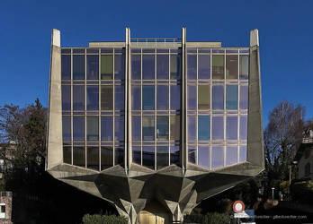 Erik Satie's debuts as an architect by Wild-Fields