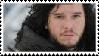 Kit Harington/Jon Snow Stamp by JamesTFF101