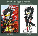 Redraw MeMe- Redesign of Dominic