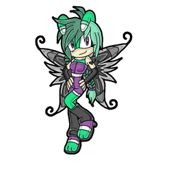 Sonic Channel Style - NC: Cassandra the Butterfly by bittybitt39