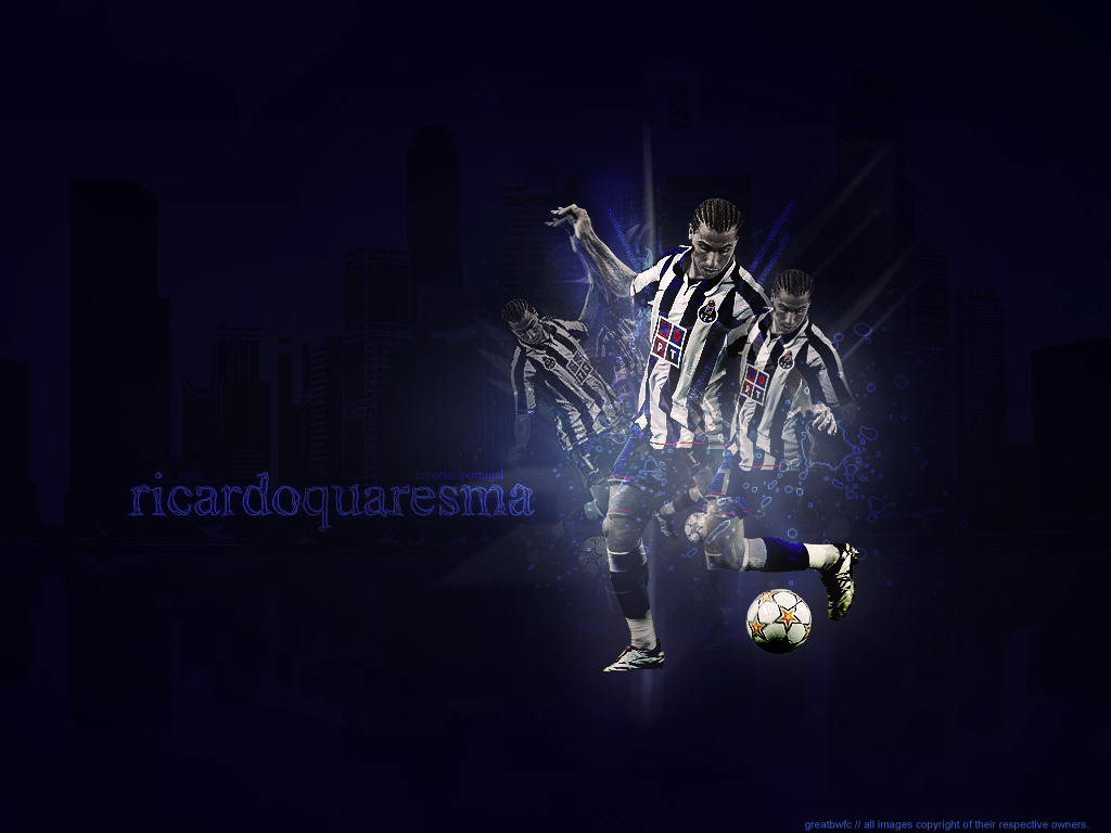 Quaresma Wallpaper by ~greatbwfc on deviantART