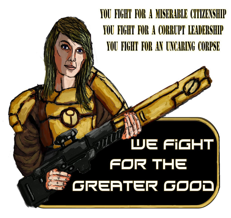 Tau Propaganda by JDAtrocityExhibition