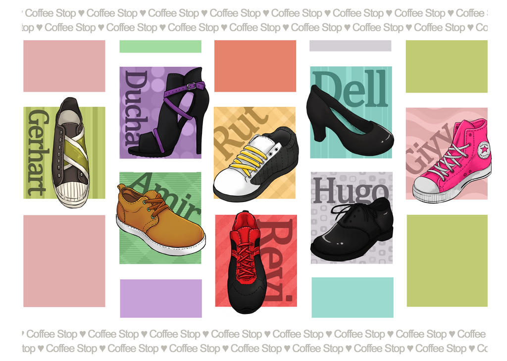 Coffee Stop Shoe's by Magdorf