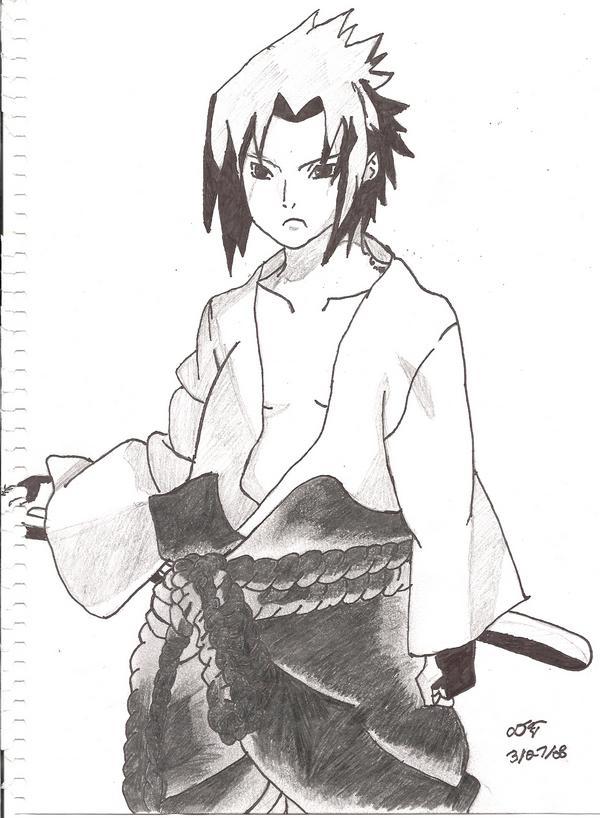 Sasuke Uchiha by roxastuskiomi