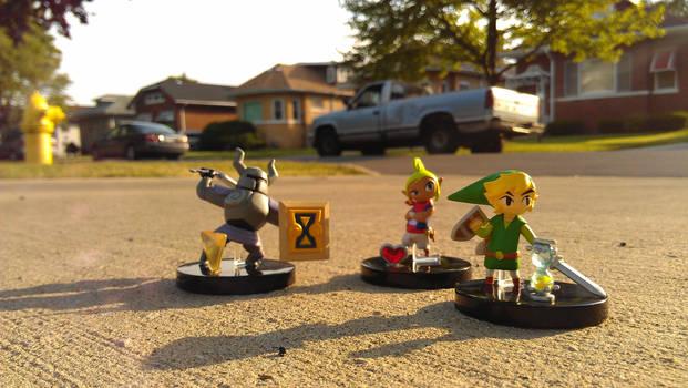 Phantom Hourglass Mini Figures