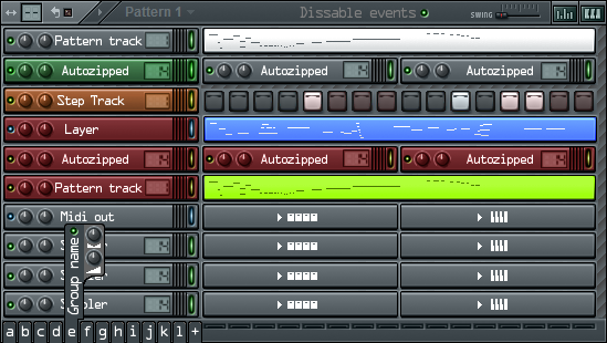 FlStudio step sequencer idea by dijimucks