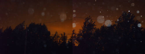 Woods on fire by dijimucks