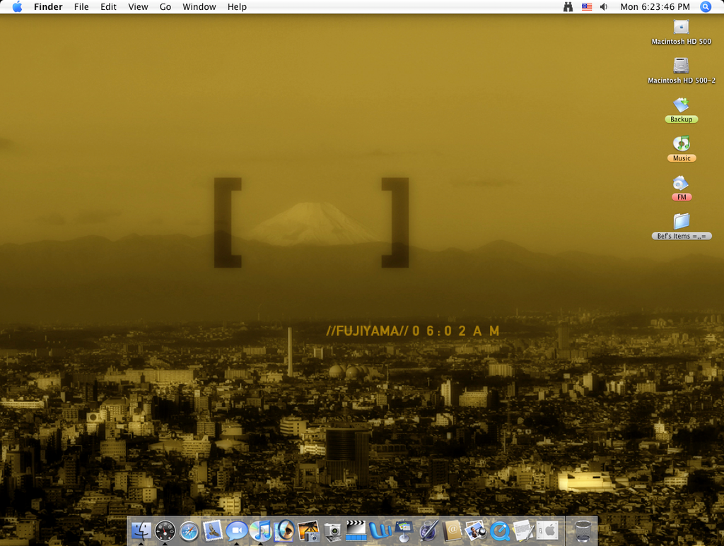 My Usual Desktop by Befera