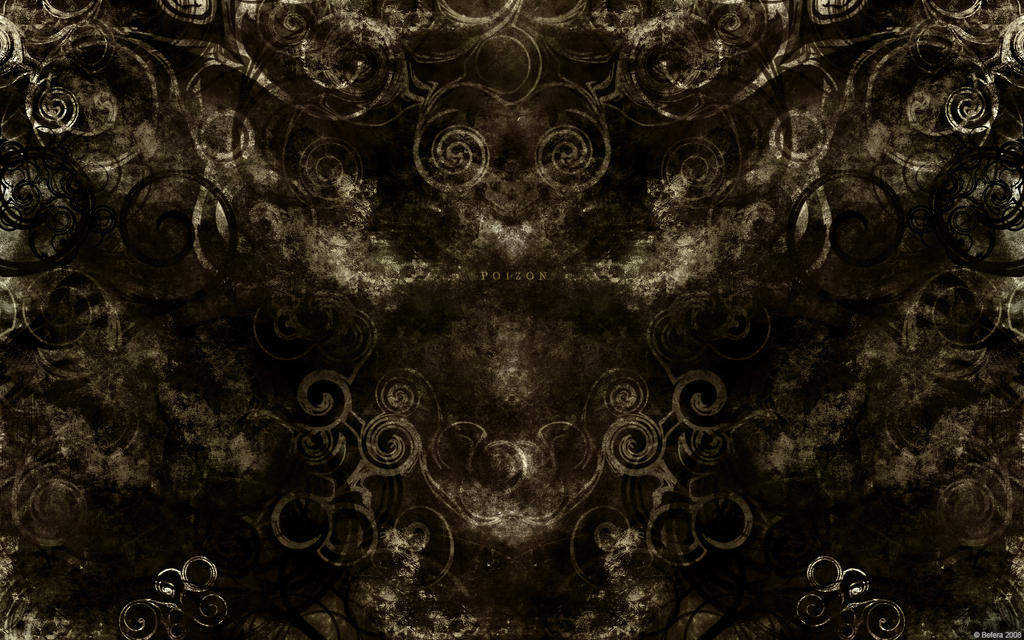 Poizon Wallpaper - Gold by Befera