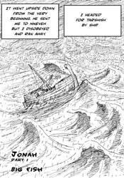 Jonah and the Whale comic by Kazumaki