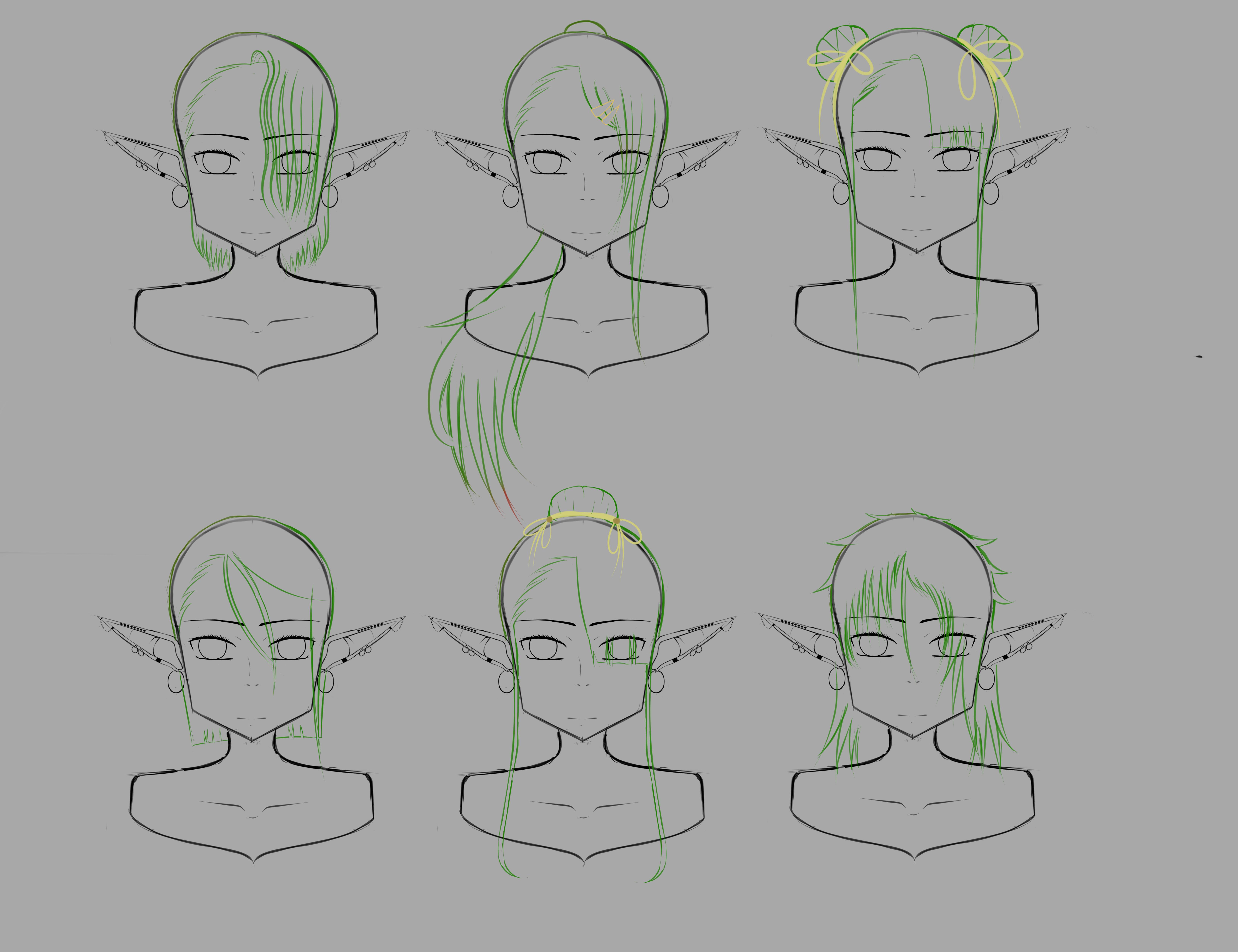 Mirai Character Development by Makia42
