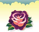Rose in illustrator