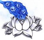 Lotus and skullfire