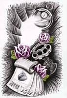 Tattoo design by jerrrroen