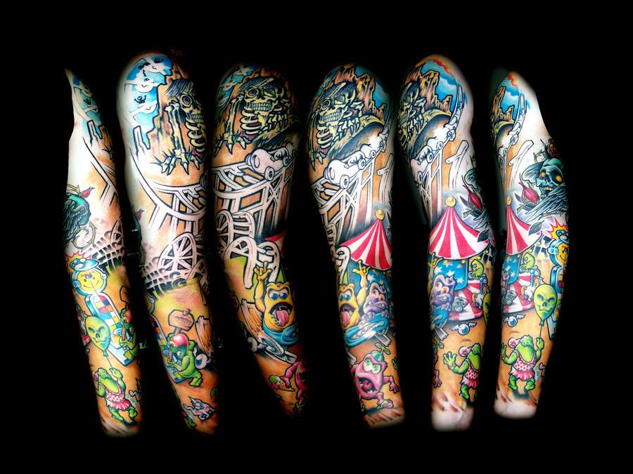 My second sleeve - sleeve tattoo