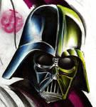 Darth Vader in progress