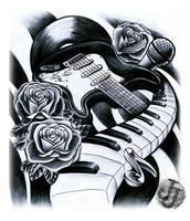 Music design by jerrrroen