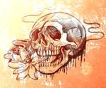 Rough skull sketch
