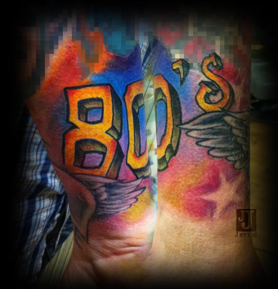 80 39 s tattoo by jerrrroen on deviantart