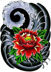 Japanese flower thingy by jerrrroen