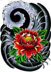 Japanese flower thingy