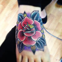 Rose tatttooooo by jerrrroen
