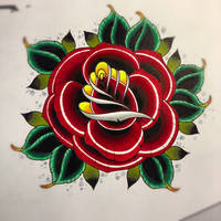 1 rose by jerrrroen