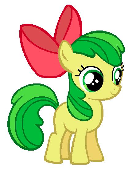 My little pony apple fritter - photo#11