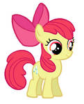 Apple Bloom with cupcakes