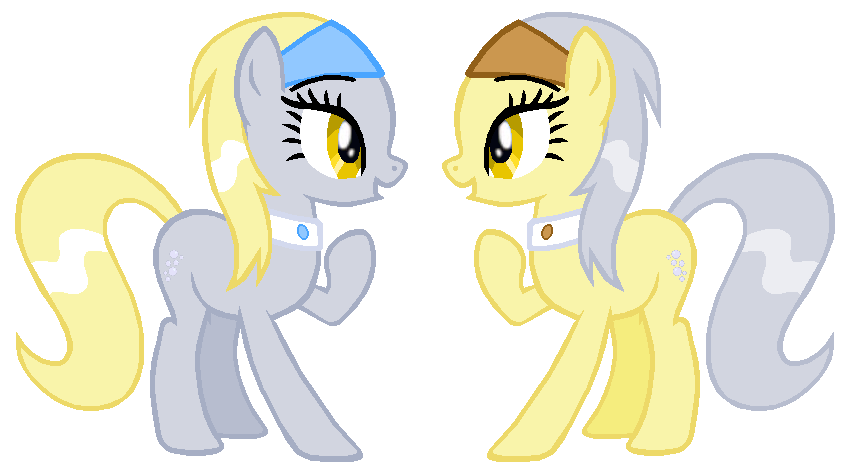 Derpy Twins by Durpy