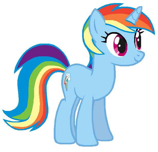 Rainbow Lash by Durpy