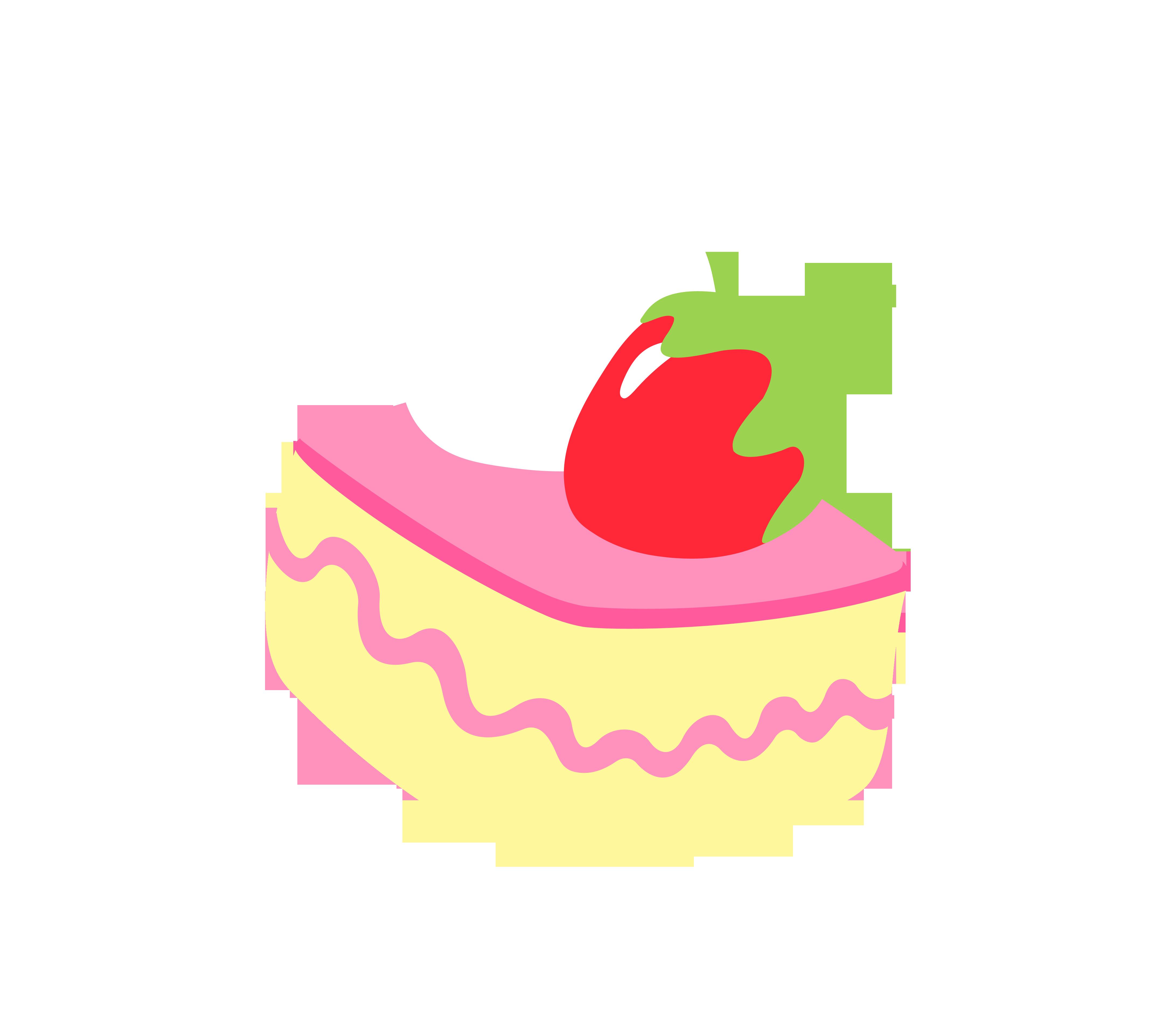 Cutie Mark - Cake (Adventures in Ponyville) by Durpy