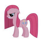 Pinkamena growl vector