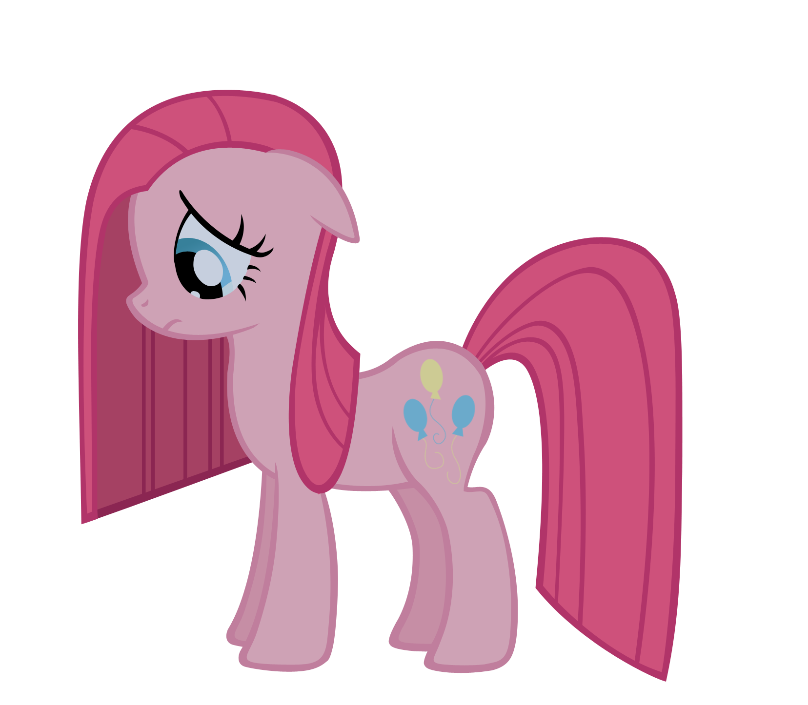 Pinkamena vector by Durpy