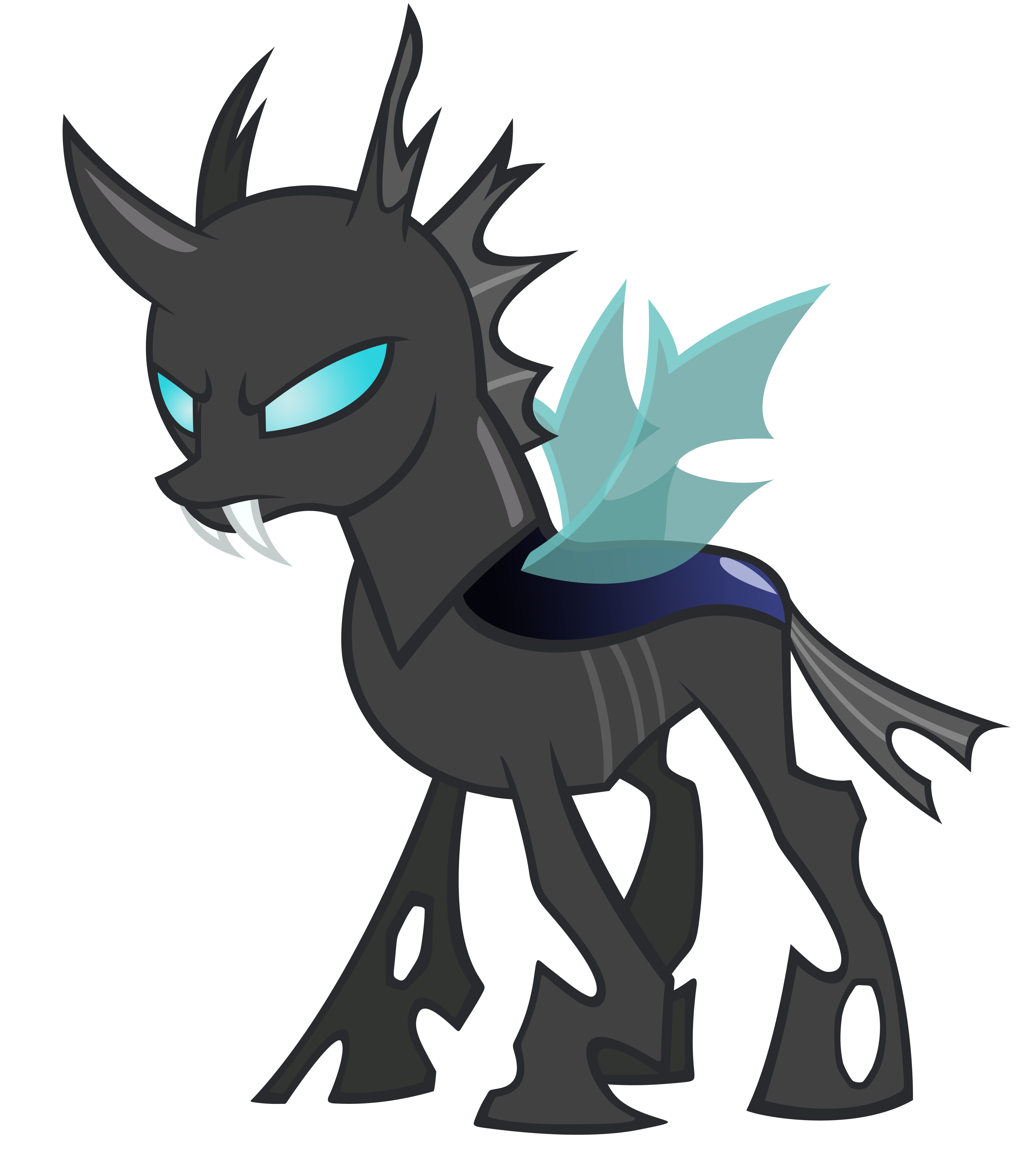 Changeling vector by Durpy