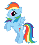 Rainbow Dash BB FiM colors vexel