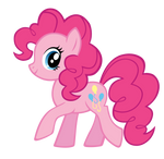 Pinkie BB FiM colors vector