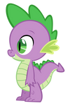 Spike the Dragon vector