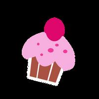 Cutie Mark - Cupcake/Sugarcup by Durpy