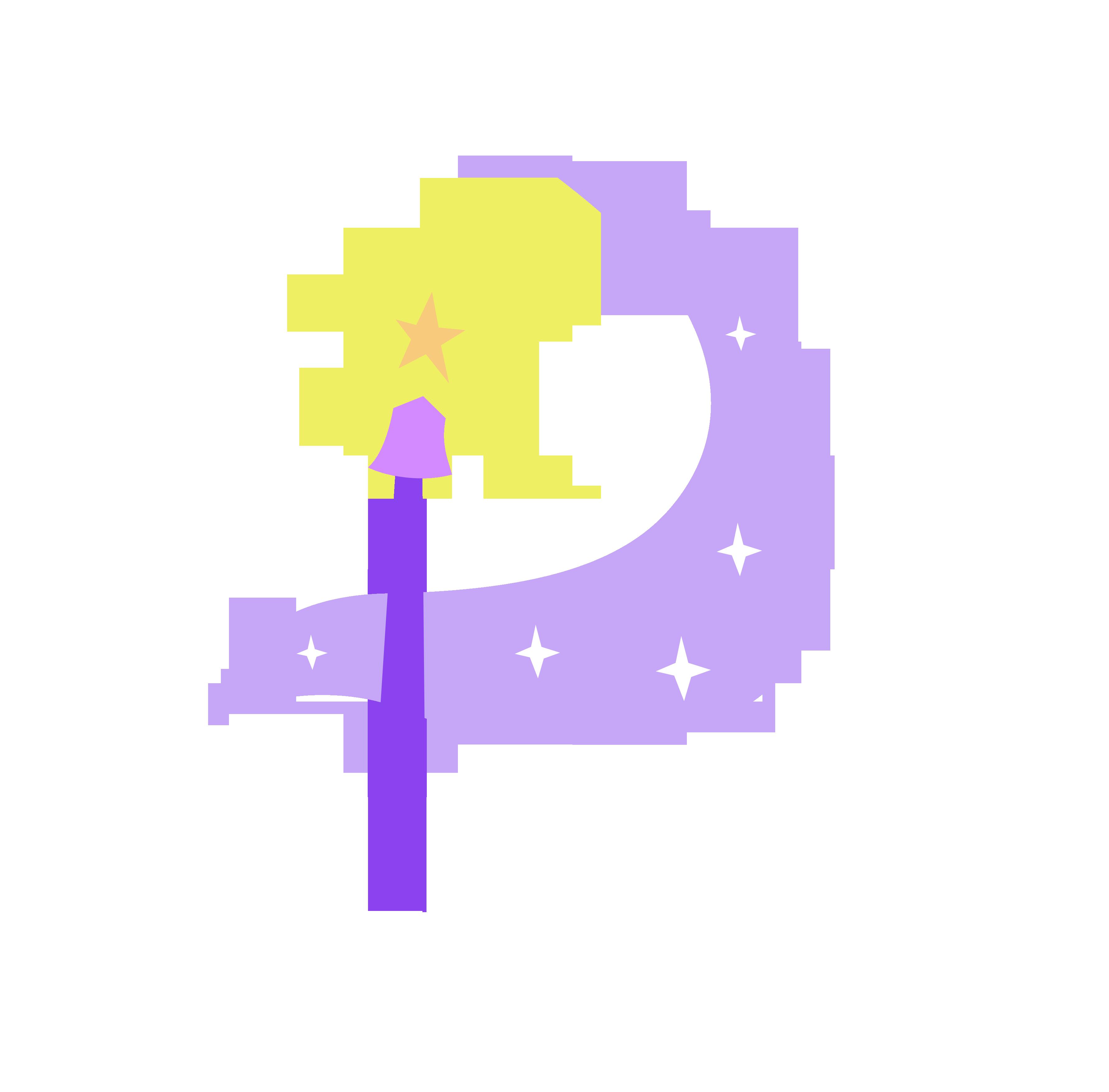 Cutie Mark - Magic Moon (Adventures in Ponyville) by Durpy