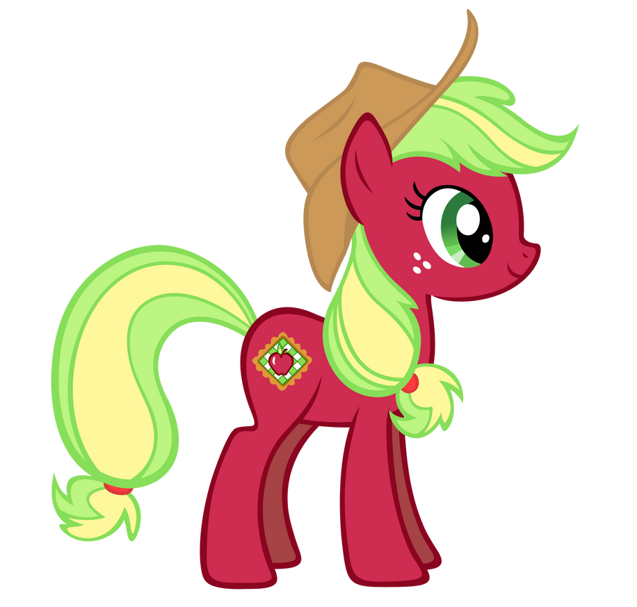 Applejack G3 vector by Durpy