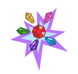 Cutie Mark - Frenzy Gem (Request)