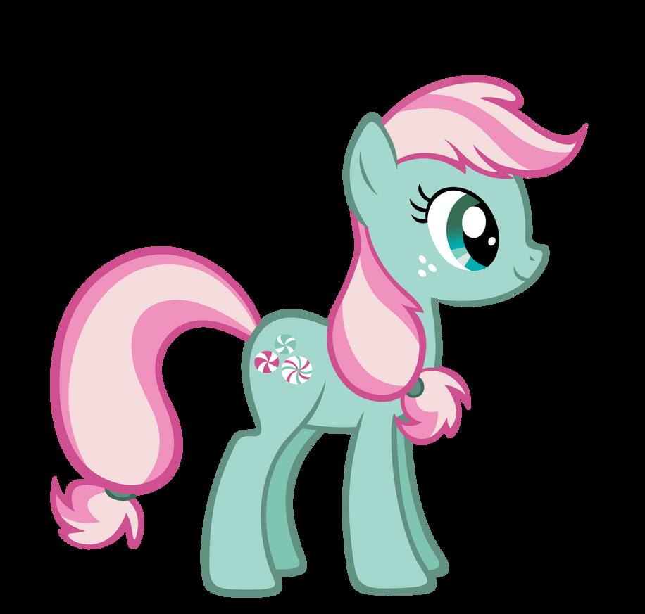 How To Draw Minty The Pony