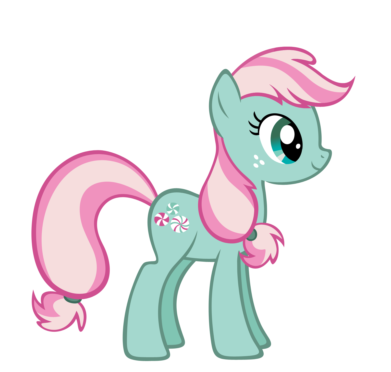 Minty FiM style vector by Durpy on DeviantArt