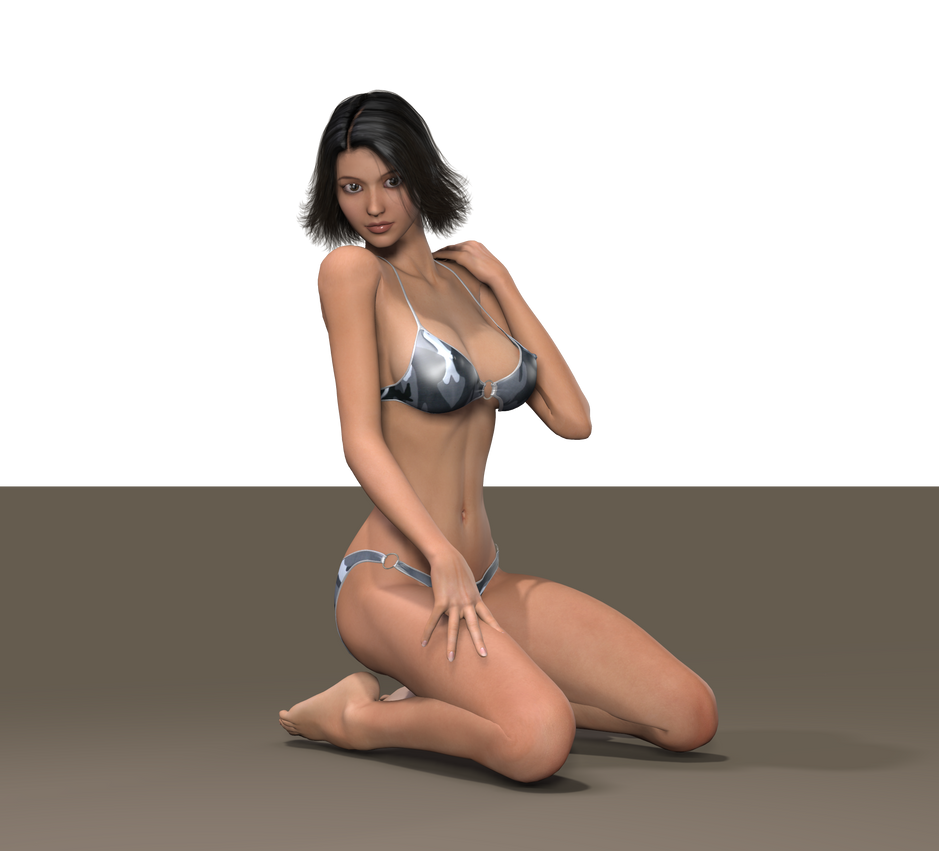 bikini Aki ross